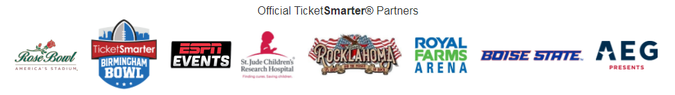 TicketSmarter Official Partners
