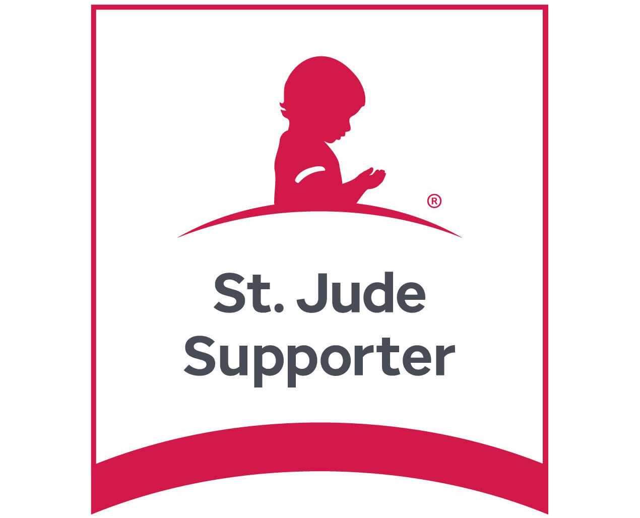 St Jude Supporter Logo